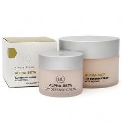 Крем выравнивающий ALPHA-BETA DAY DEFENSE CREAM Holy Land 50 мл.