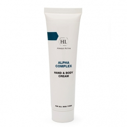 Крем для кожи рук и тела ALPHA COMPLEX HAND & BODY CREAM Holy Land 100 мл.