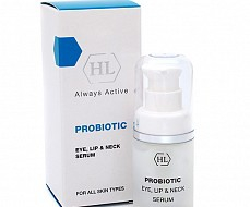 Сыворотка-концентрат PROBIOTIC EYE, LIP & NECK SERUM 15 мл.